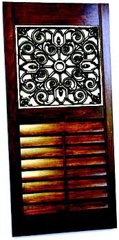 Interior Window Shutters With Fabric Inserts : Wood Shutters, Plantation shutters, Interior Shutters, Window Shutters ...