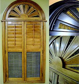 Wood Shutters, Plantation shutters, Interior Shutters, Window Shutters ...