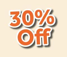 30% off shutters blinds in Orlando